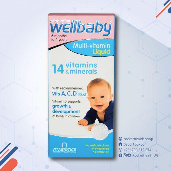 Wellbaby Multivit syrup