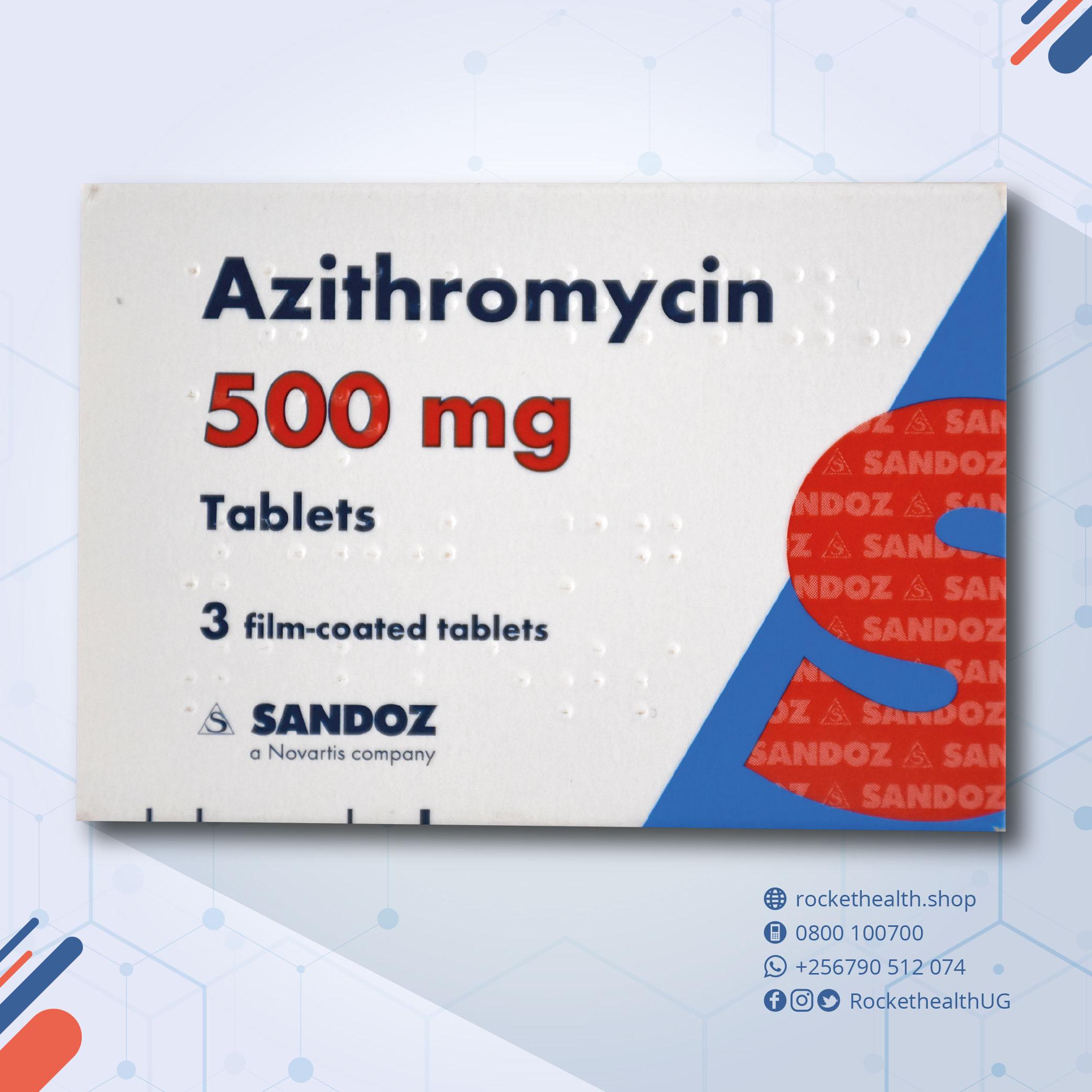 tienda azithromycin 500mg envío