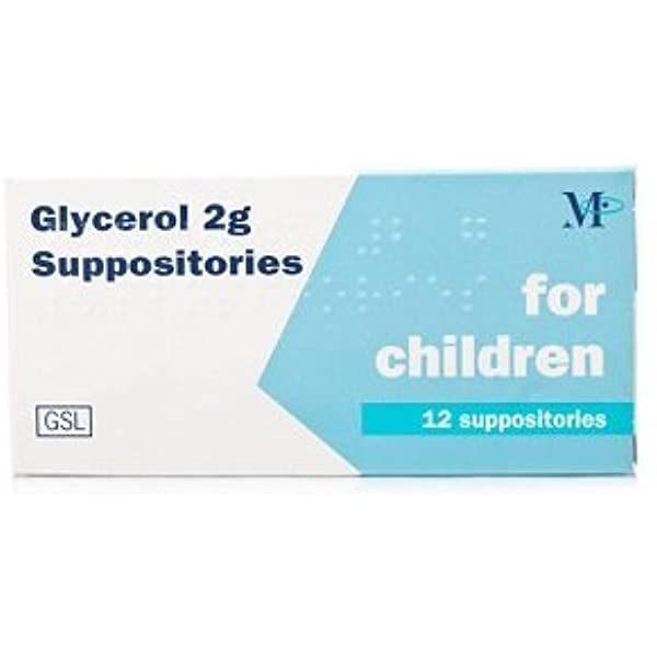 Glycerol Supp UK 2g